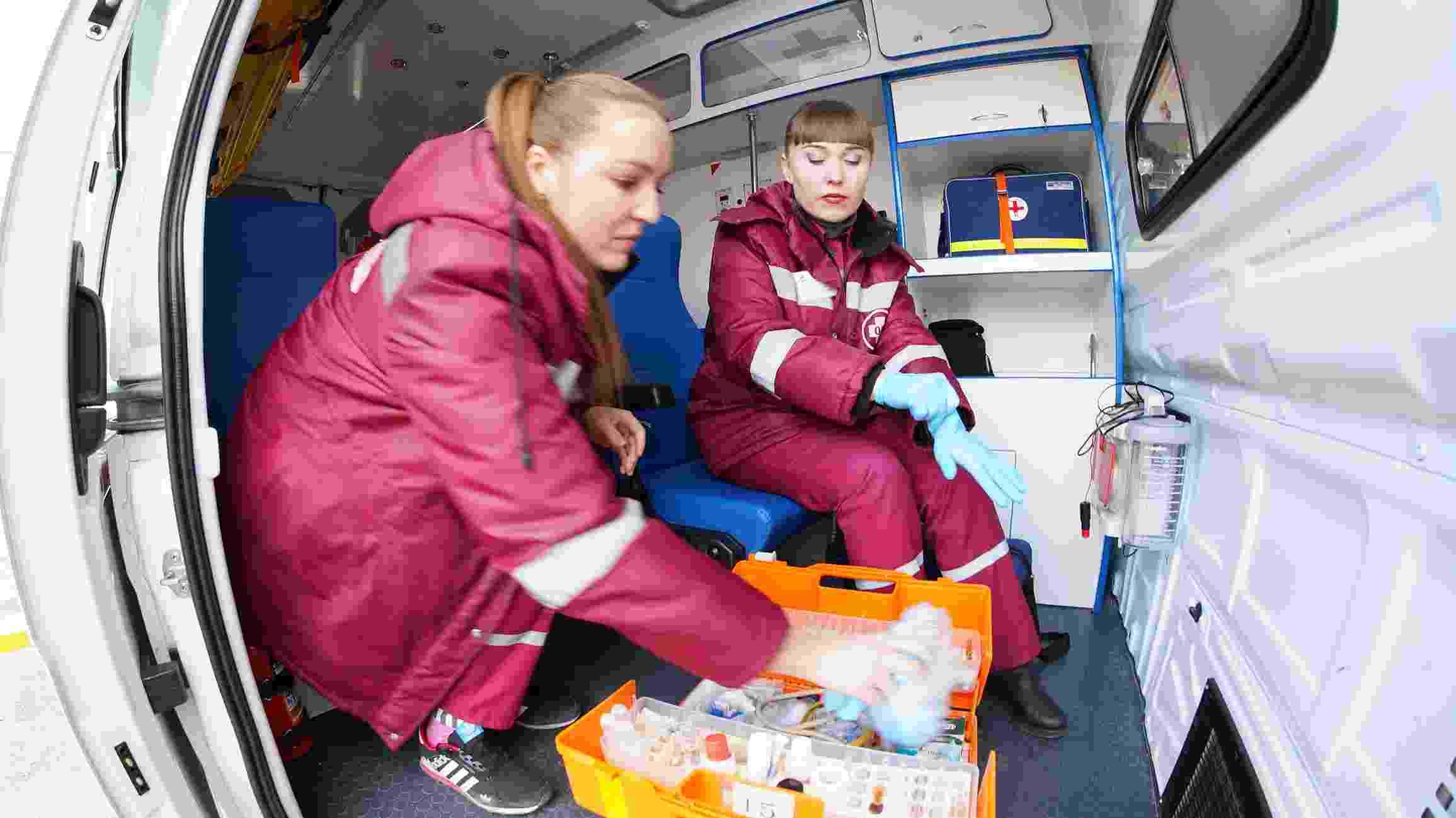 Работники скорой медицинской помощи Новороссийска отмечают профессиональный праздник