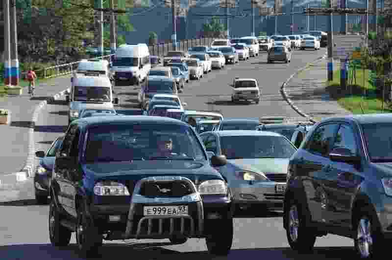 Сегодня многие новороссийцы опоздали на работу. Снова пробка