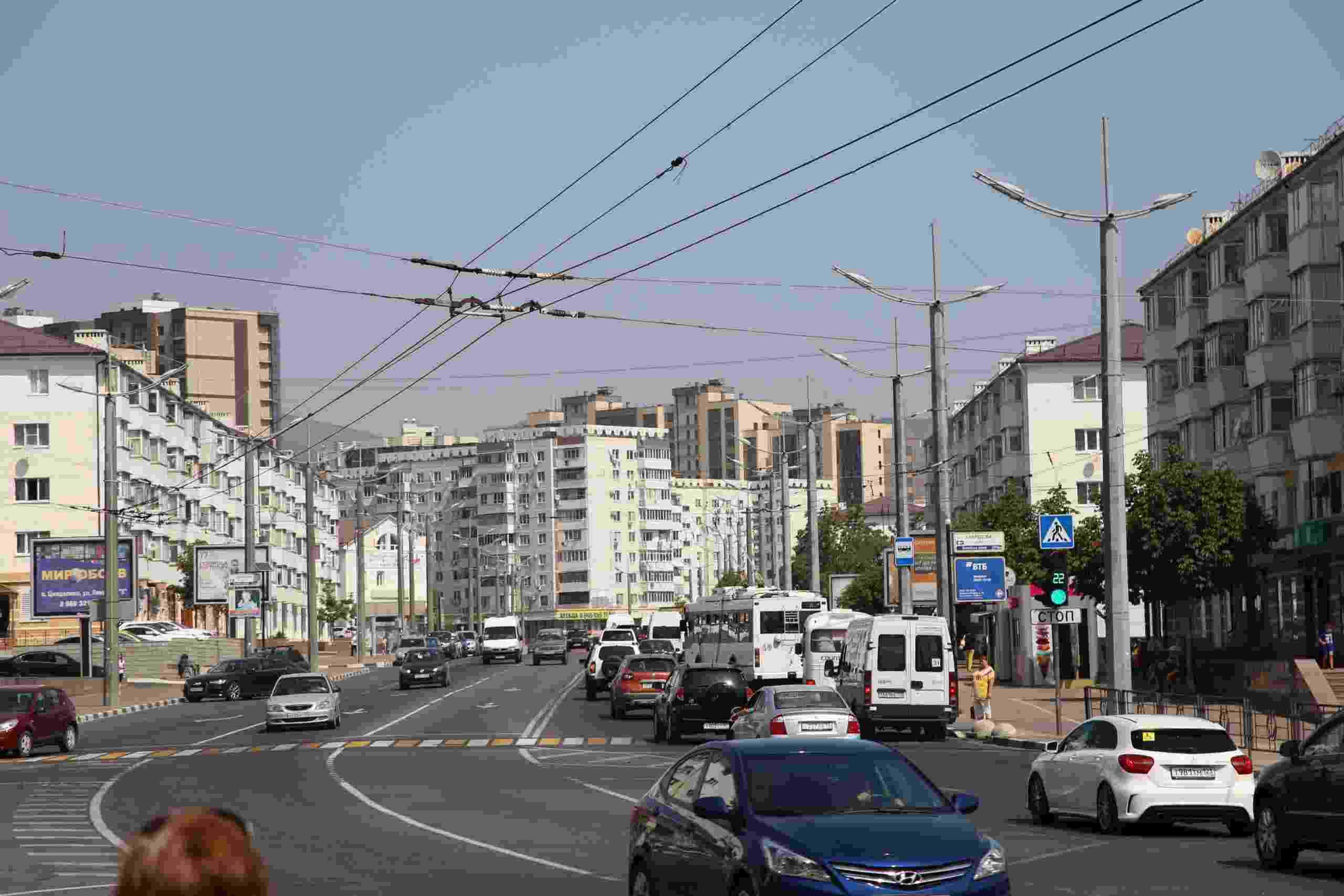 Проспект Ленина в Новороссийске  отремонтируют по краевой программе