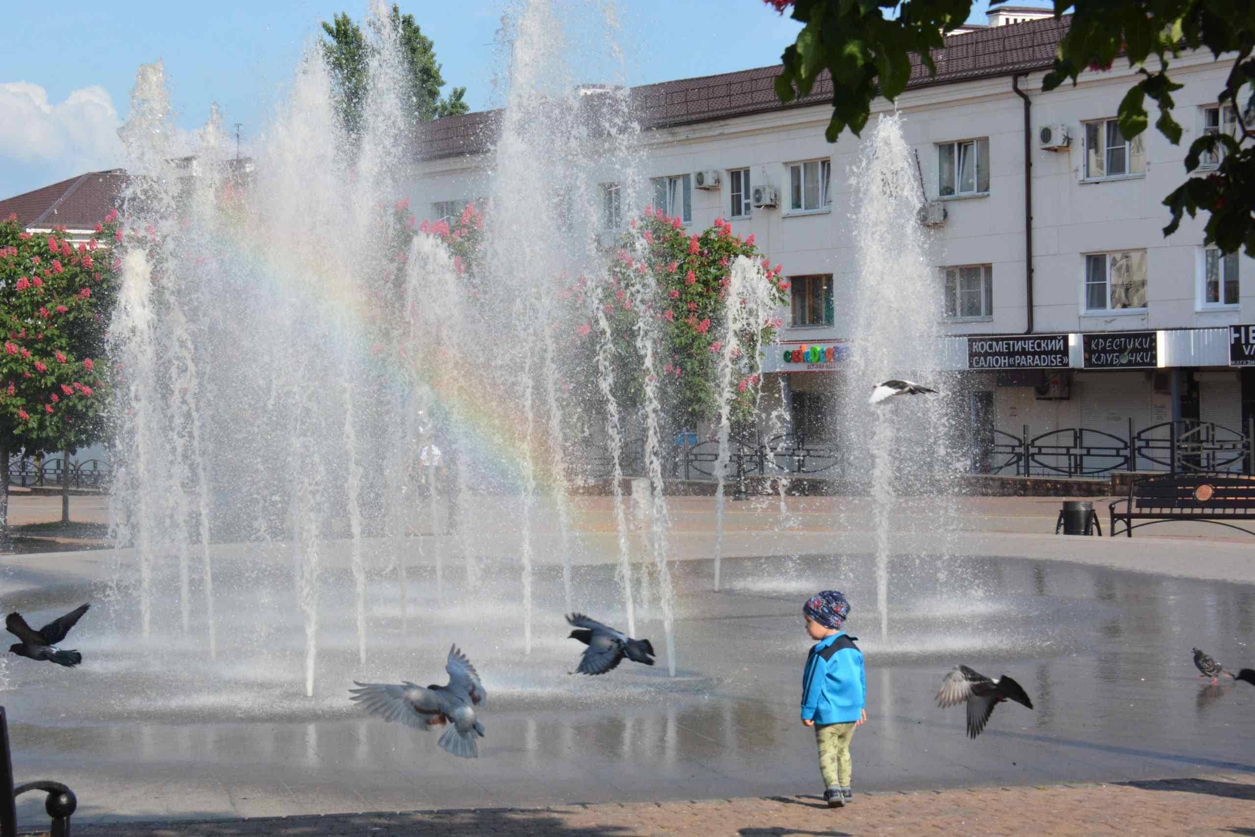В Новороссийске заработают фонтаны! А в море фонтан будет?