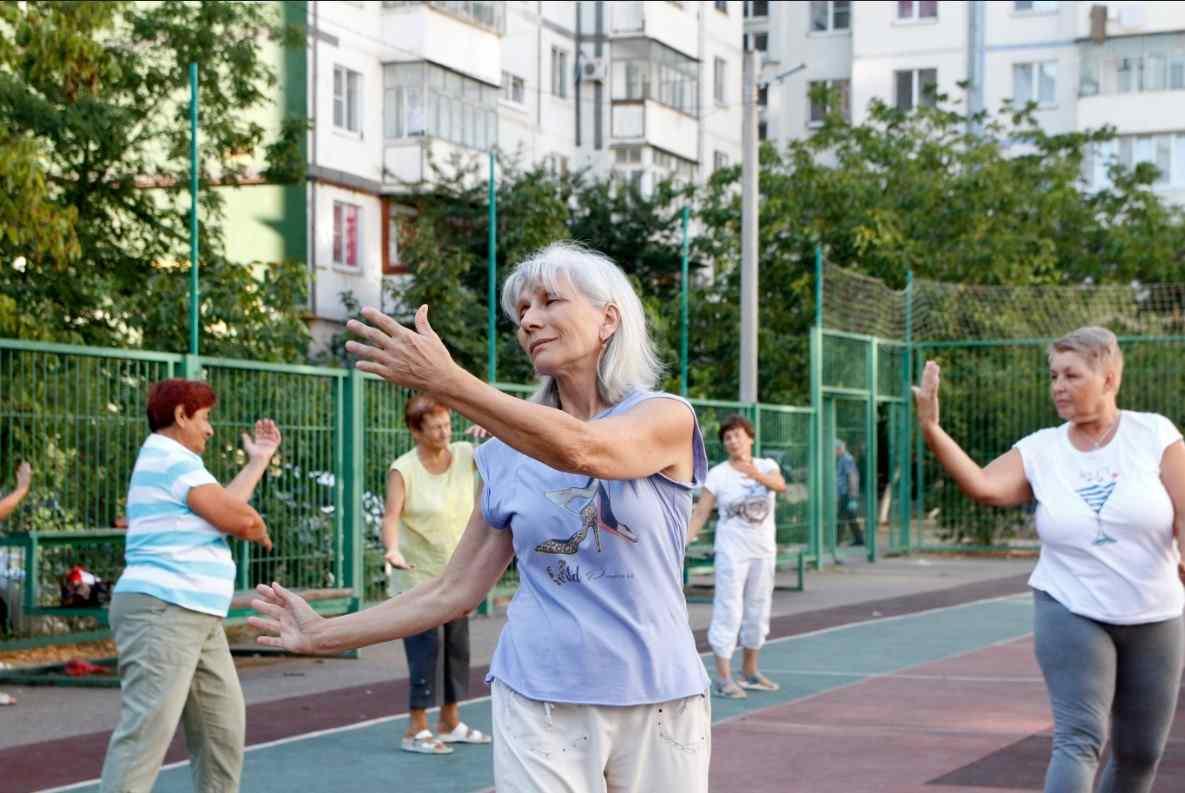 В Новороссийске открыли десять бесплатных групп здоровья