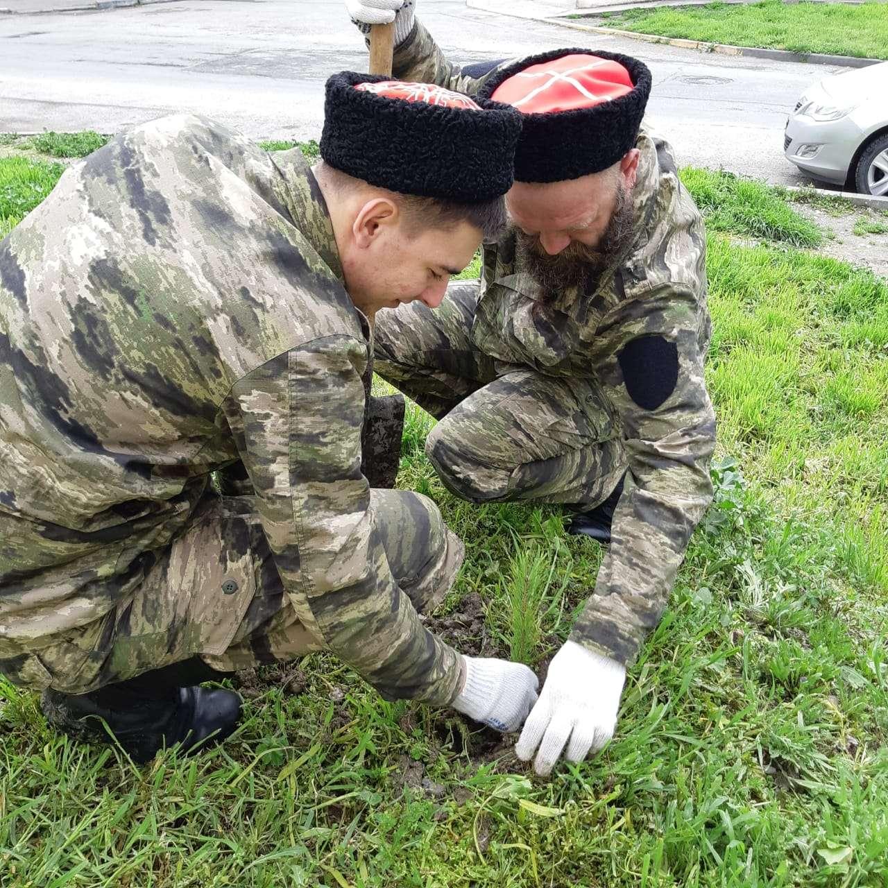 Новороссийцы с пользой провели день без дождя – вышли на субботник