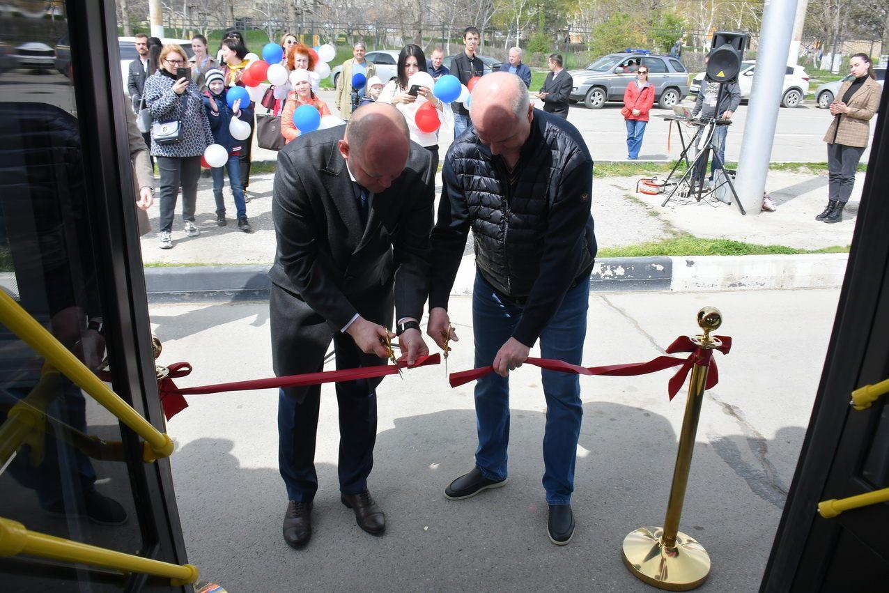 В Новороссийске запустили новую троллейбусную линию
