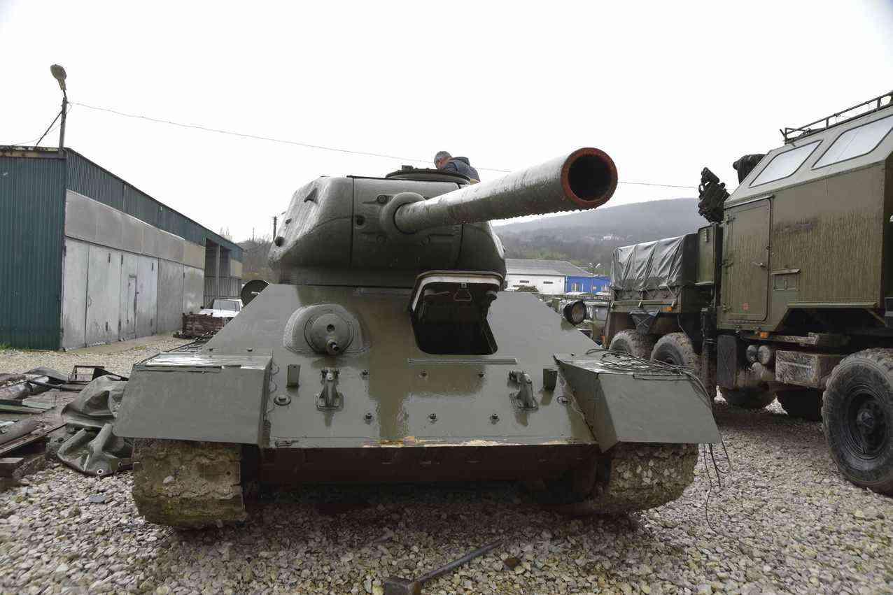 Танк Т-34, участвовавший в боях Великой Отечественной войны, проедет  на параде Победы 9 Мая в Новороссийске