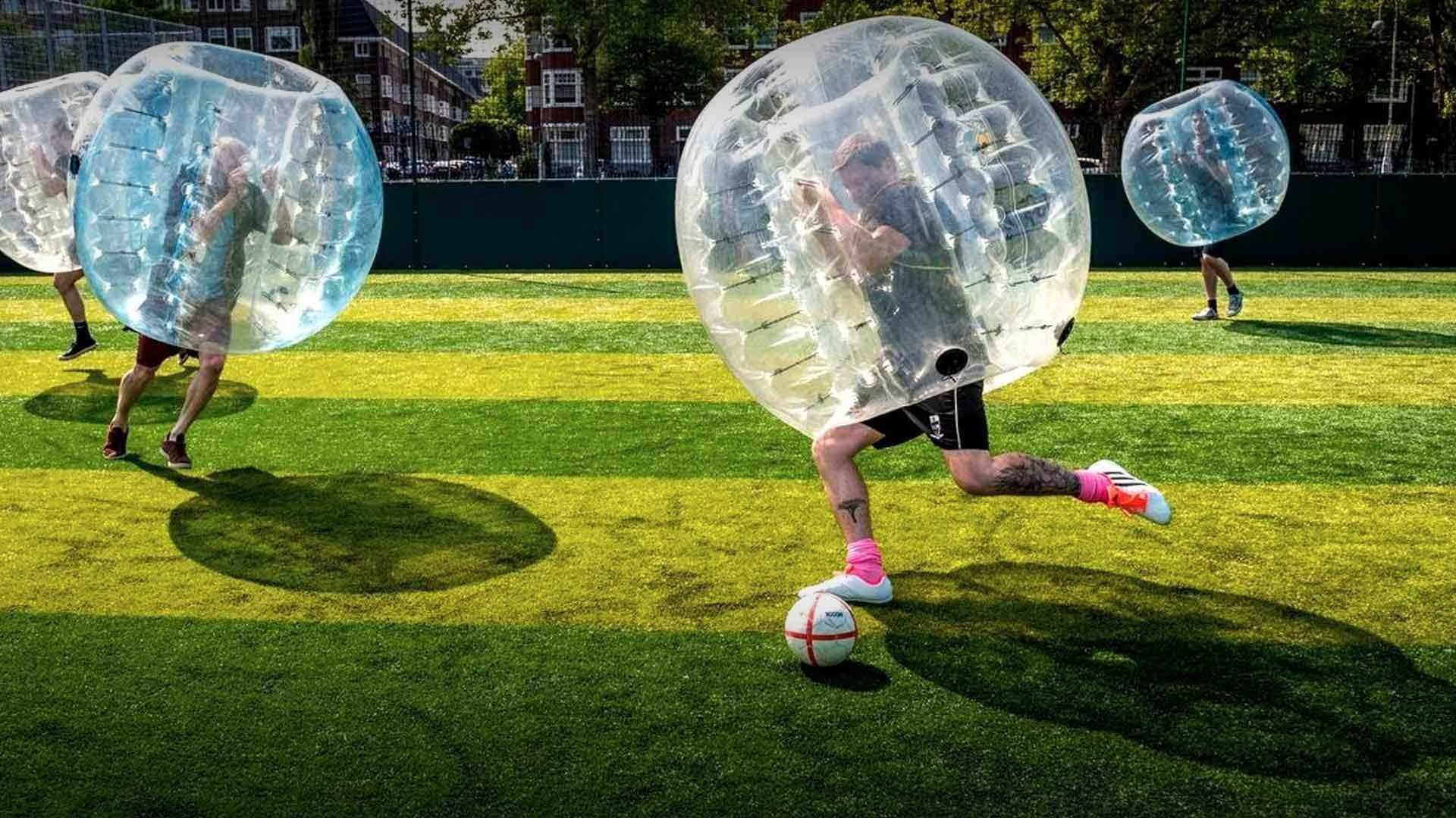 В Новороссийске впервые можно будет поиграть в бампербол. Автомобилистам просьба не беспокоиться!