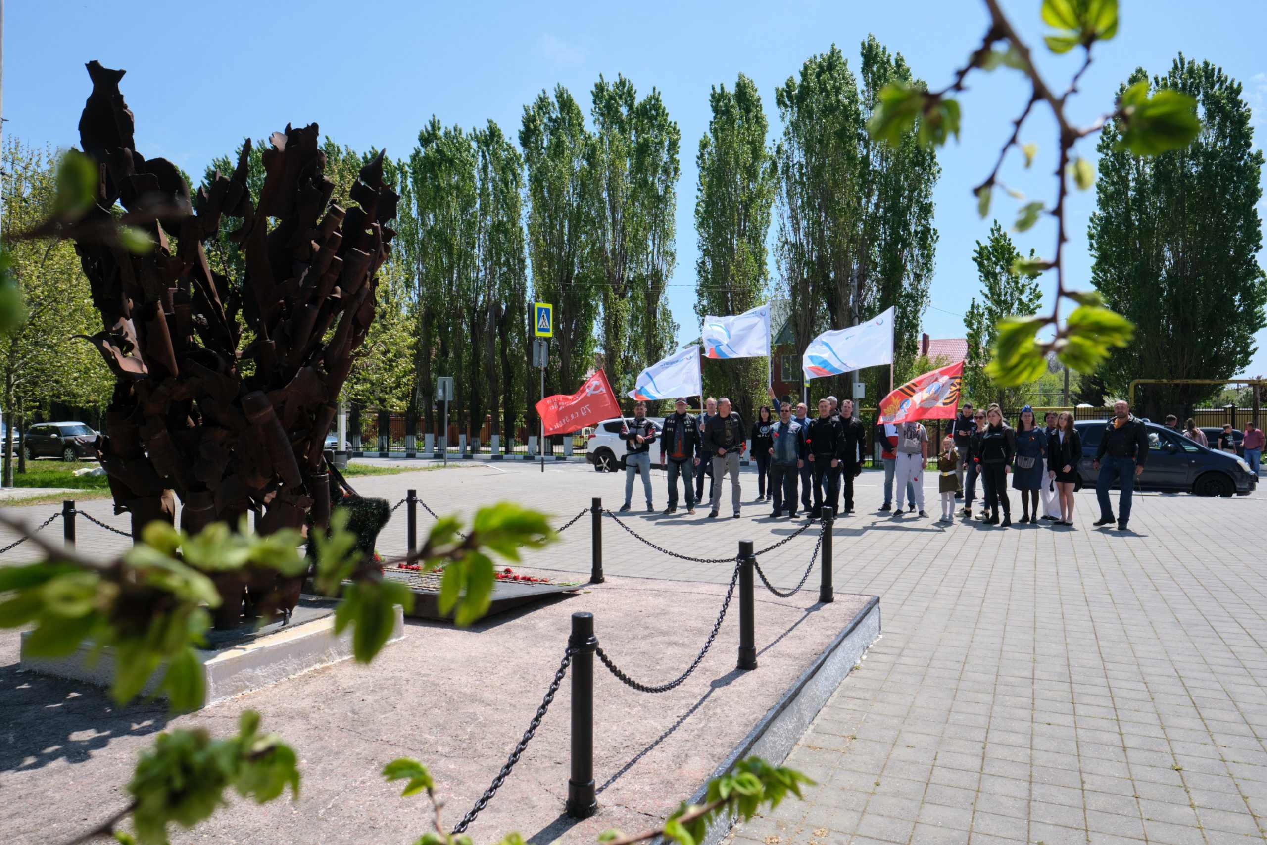 Дорога памяти: работники АО «Черномортранснефть» совершили авто- и мотопробег по местам боевой славы