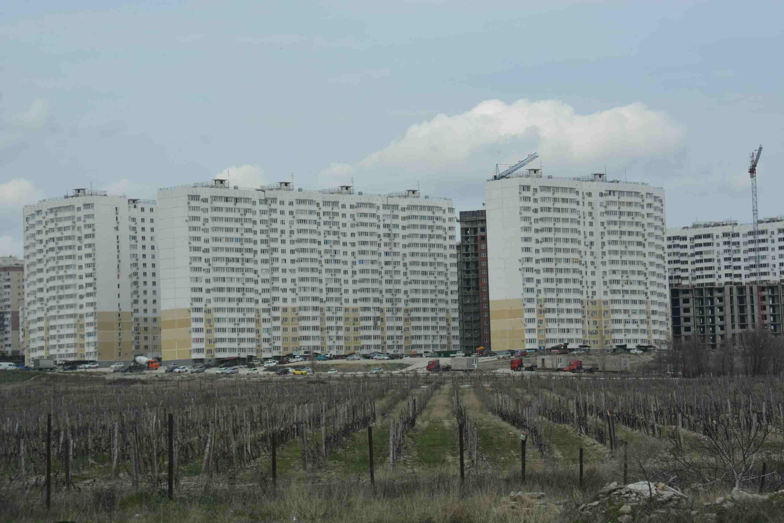 В Краснодарском крае утвердят единую концепцию жилой застройки