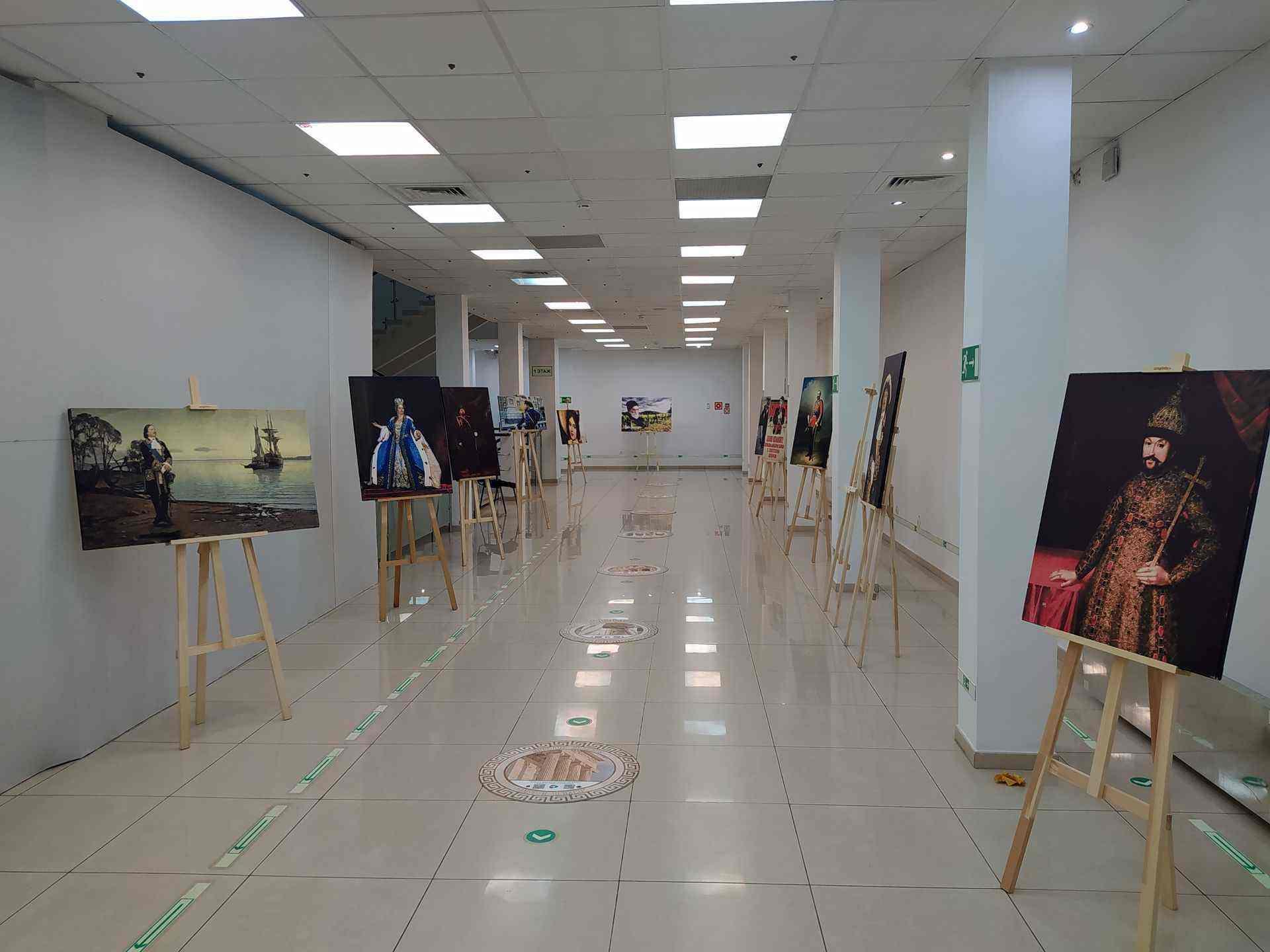 В Новороссийске открылась интерактивная выставка «Мировые шедевры. Исторические личности»