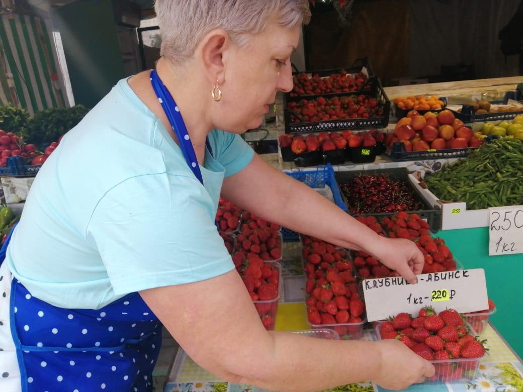 Овощи на новороссийских рынках дешевеют неспеша
