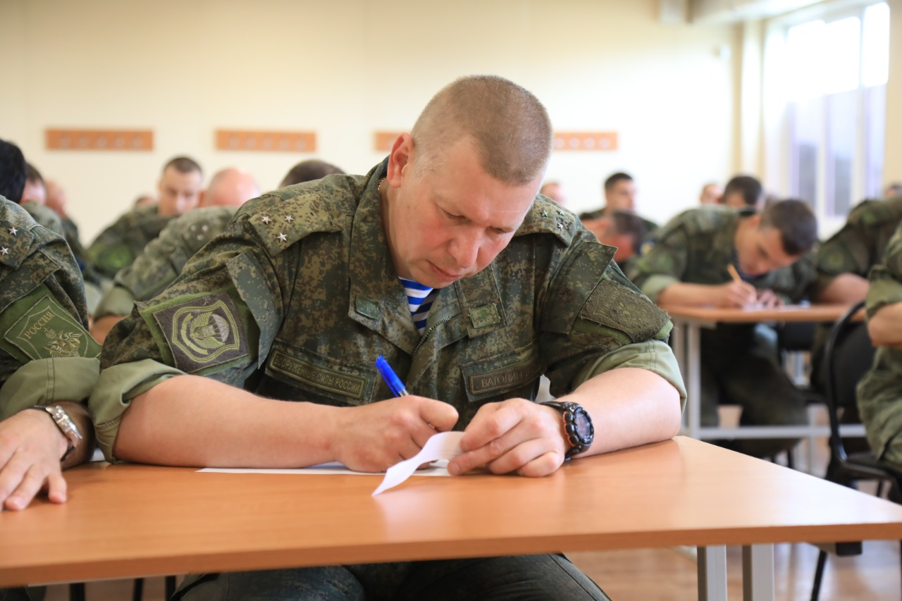 Десантники Новороссийска   участвуют в конкурсе ВДВ «Электронный рубеж-2021»