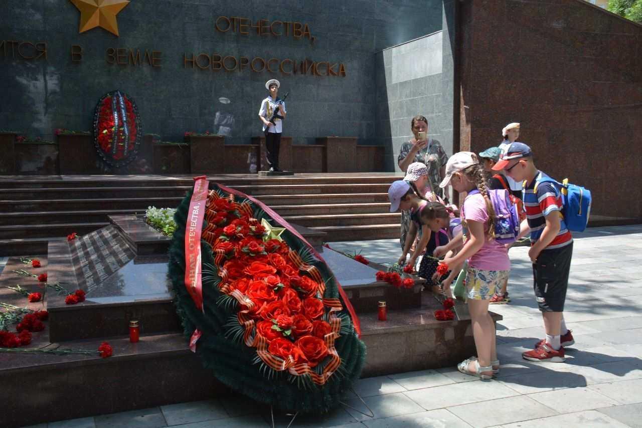 В Новороссийске минутой молчания почтили память жертв Великой Отечественной войны
