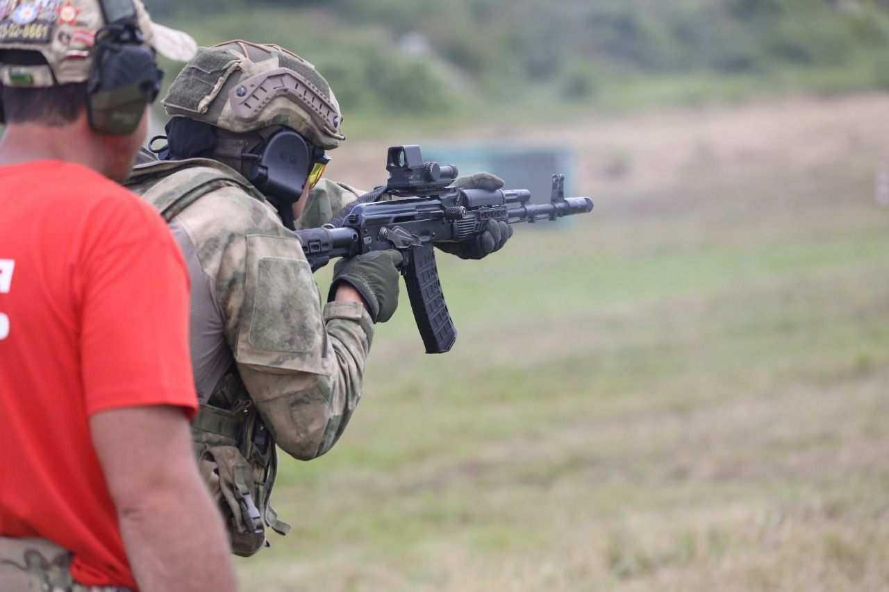 Под Новороссийском прошел третий этап конкурса «Тактический стрелок-2021»