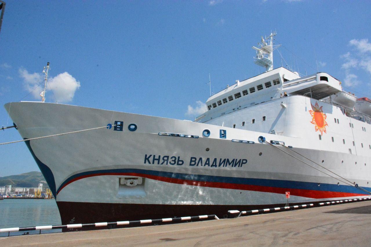 Из Новороссийска можно отправиться в короткий круиз на лайнере «Князь Владимир»