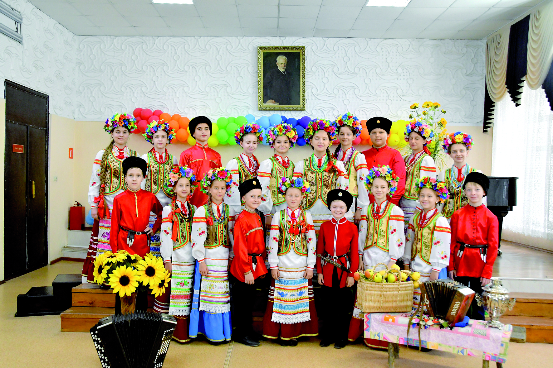 У юных музыкантов Новороссийска — Гран-при фестиваля детских фольклорных коллективов
