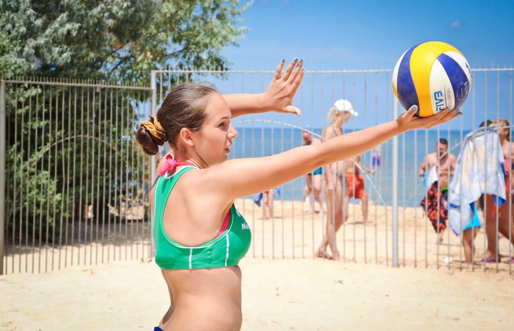 Пляжный волейбол в Новороссийске: где поиграть?