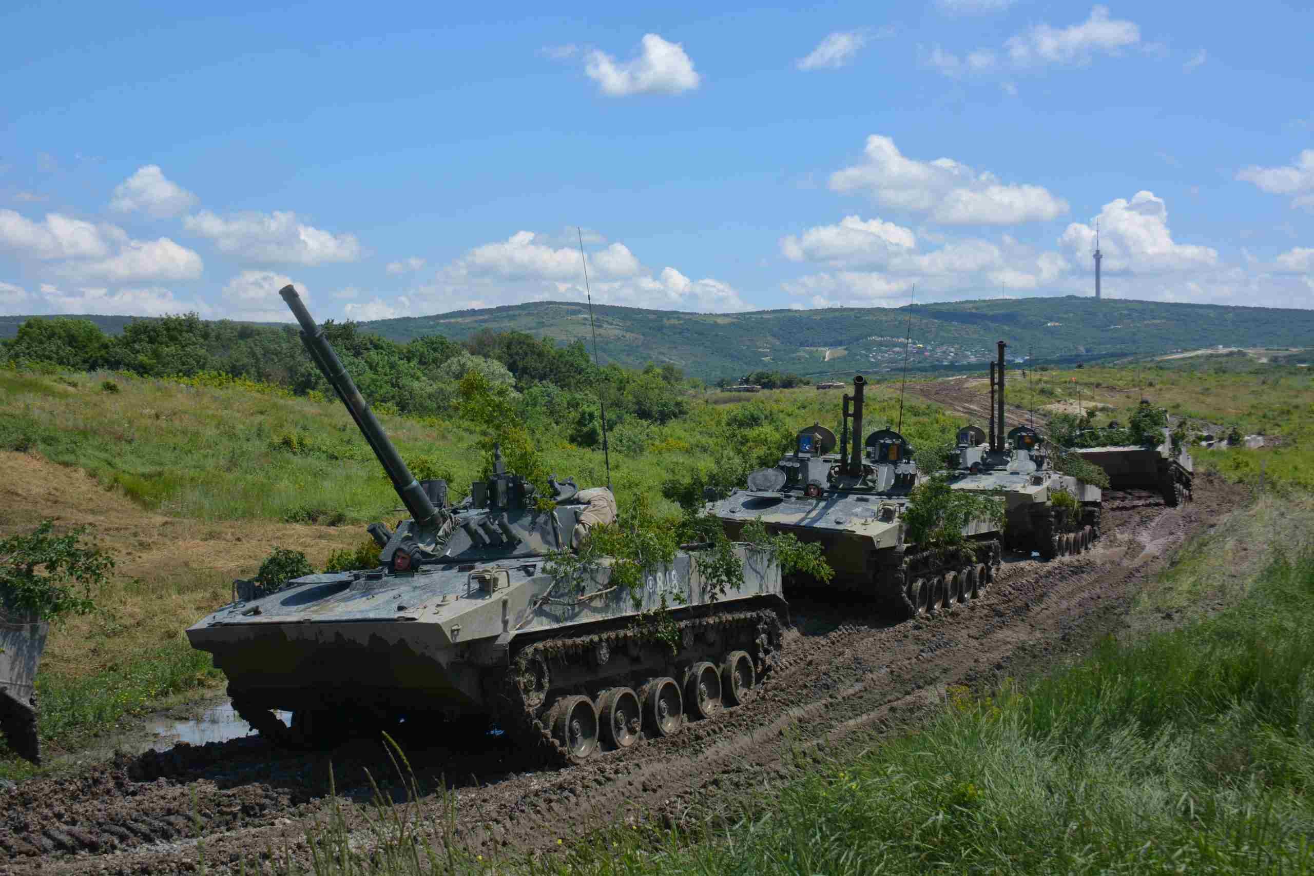 Под Новороссийском завершены российско-белорусско-сербские тактические учения «Славянское братство – 2021»