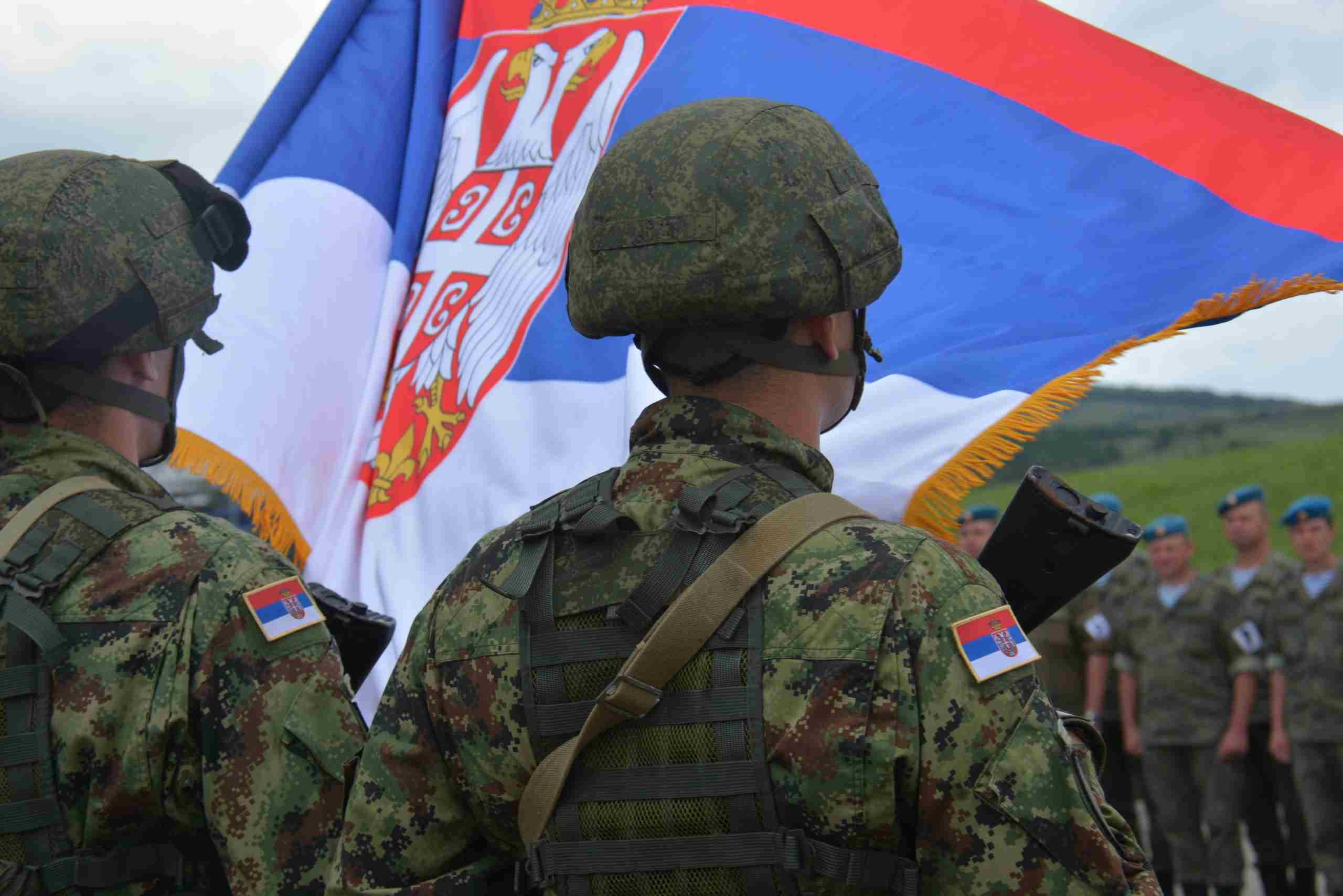 На полигоне «Раевский» прошла торжественная церемония открытия учений «Славянское братство-2021»
