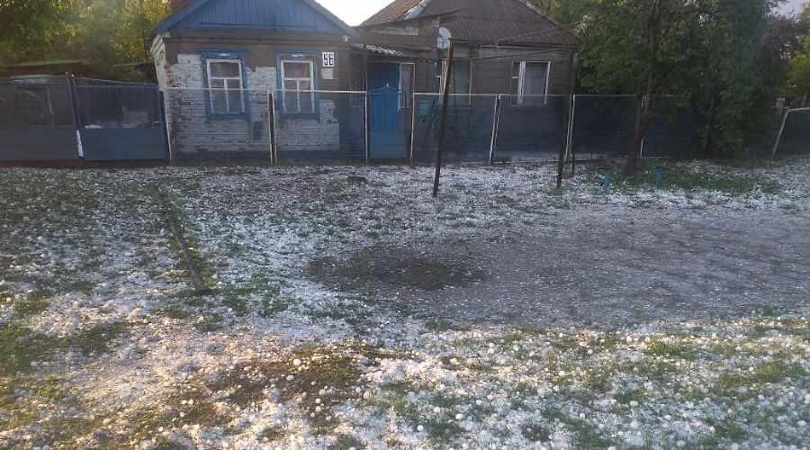 Города и поселки Краснодарского края пострадали от непогоды