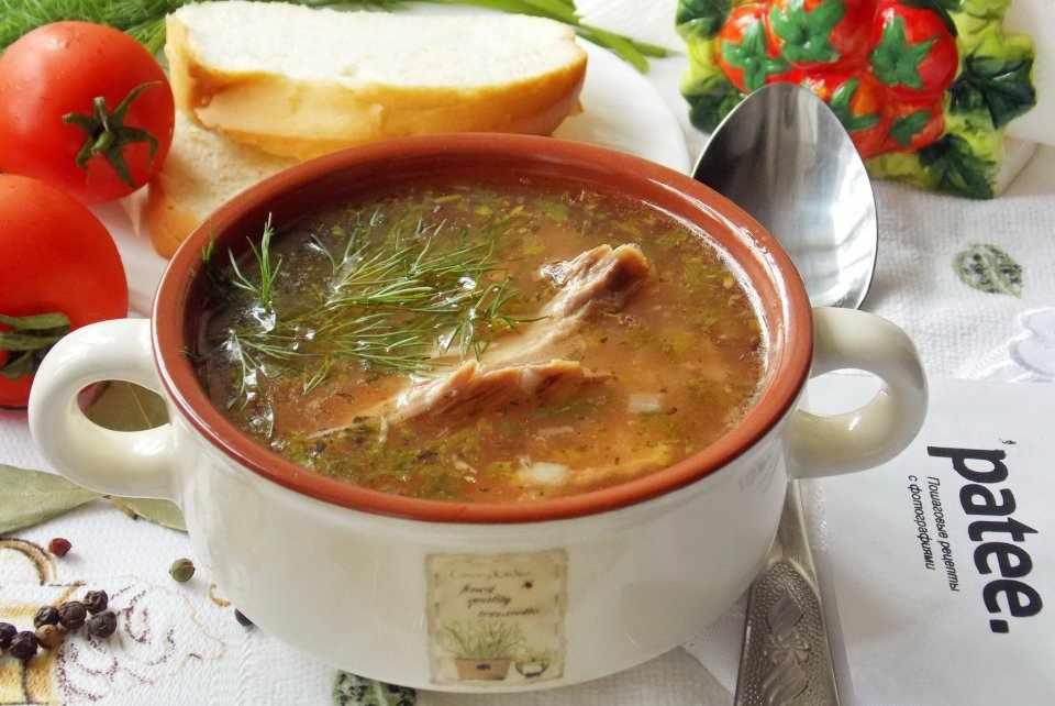 Густой, ароматный, в меру острый: суп харчо из индейки