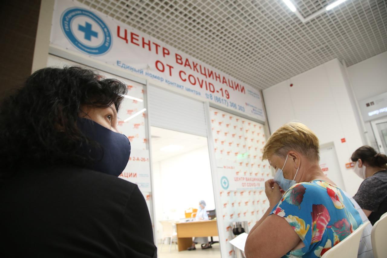 В Новороссийске открылся дополнительный мобильный пункт вакцинации от COVID-19