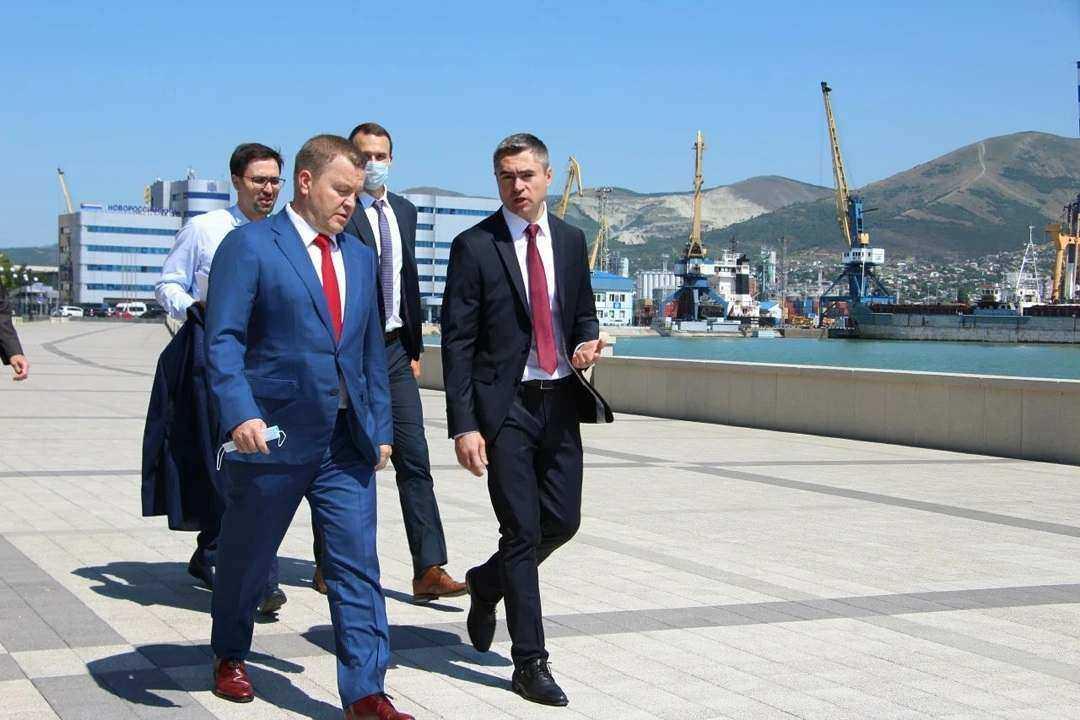 Вчера Новороссийск посетил с рабочим визитом вице-губернатор региона Александр Руппель