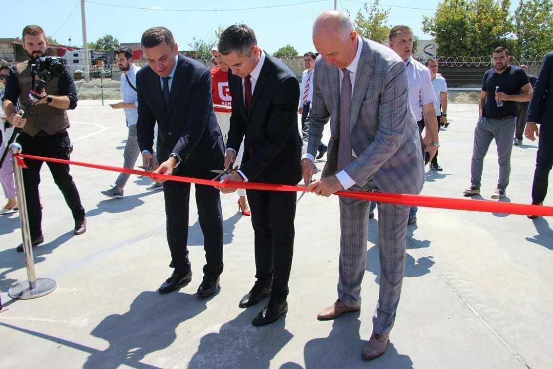 В Новороссийске открыли логистический центр и заложили камень будущего мультитемпературного склада