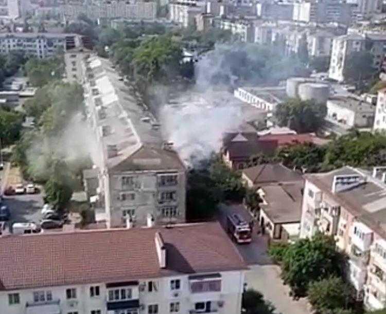 В Новороссийске чашка кофе стала причиной серьезного пожара (видео)