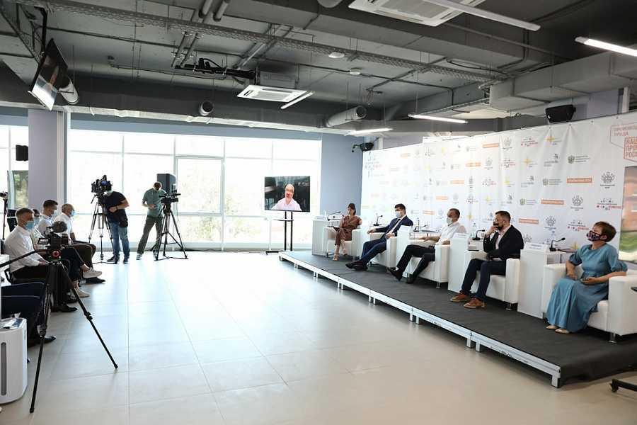 Первый в стране центр по рационализации Точка кипения Hi-Tech запустили в Краснодаре