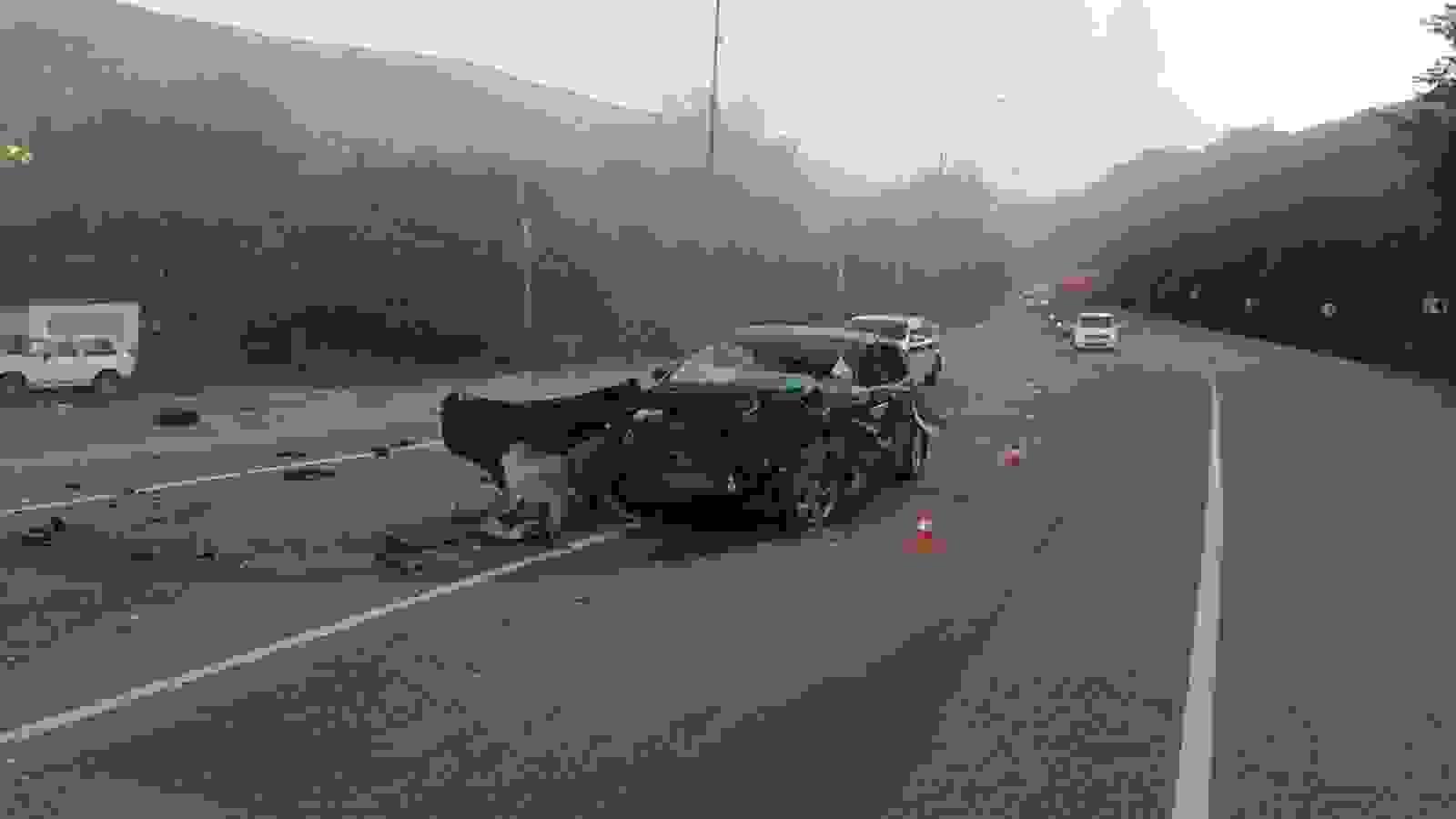 В Новороссийске — снова несколько серьезных аварий на дорогах (видео)