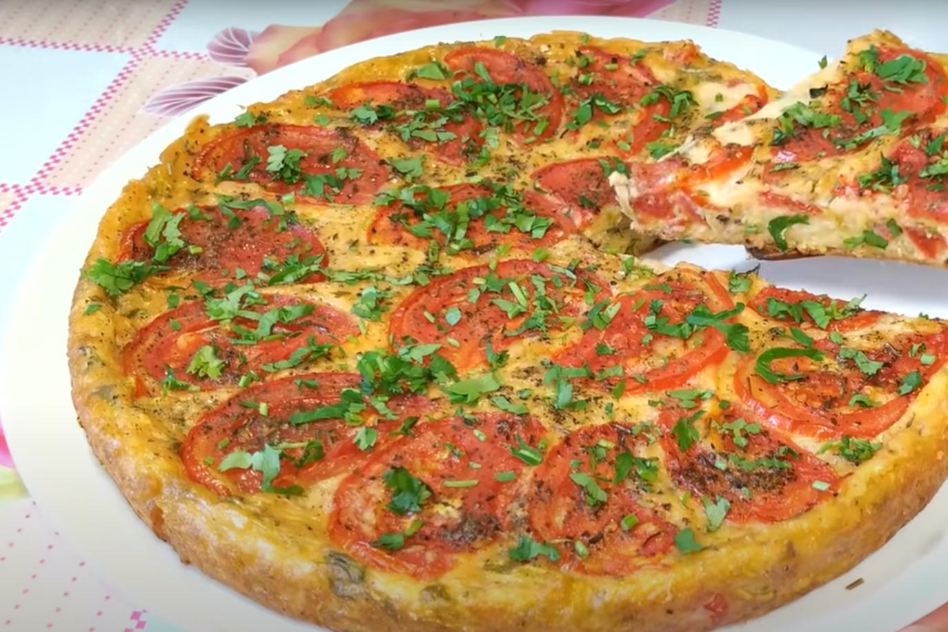 Самый вкусный и простой рецепт — кабачковая пицца на сковороде