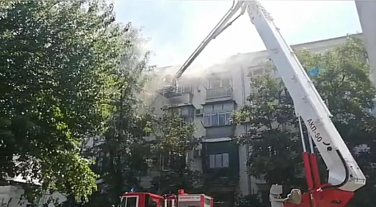 В Новороссийске – снова пожар в многоэтажке