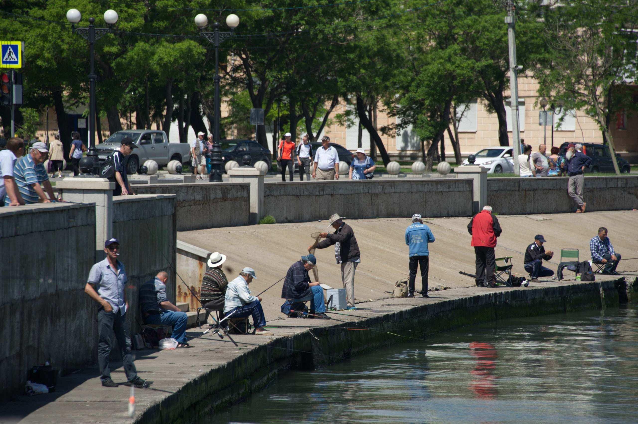 Новороссийские рыбаки отметили профессиональный праздник поножовщиной