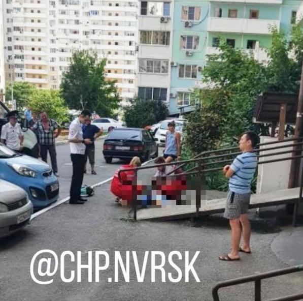 В Новороссийске в субботу девочка-подросток выпала с высоты