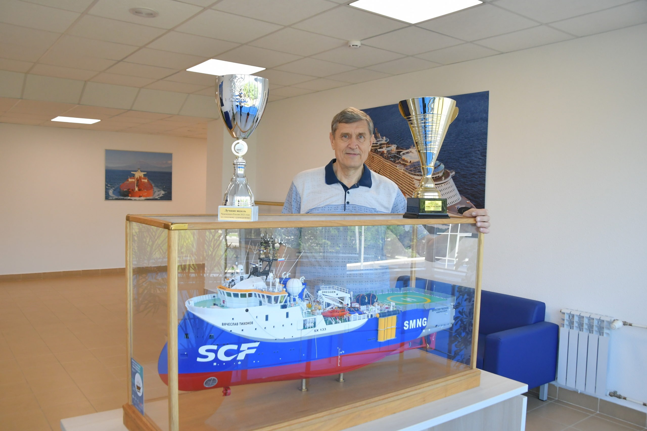 Судомоделист из Новороссийска привез домой золото столичного чемпионата