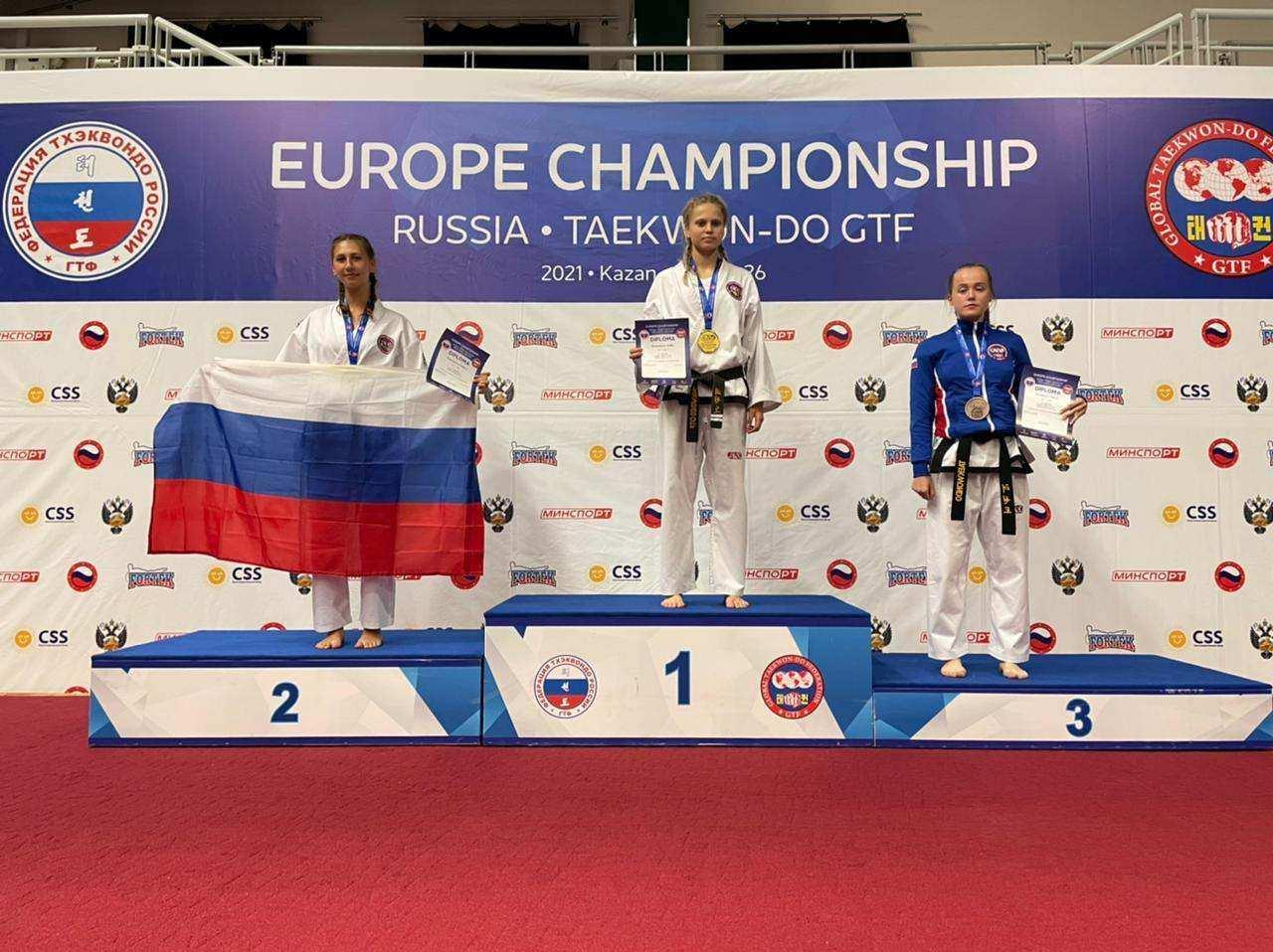 Новороссийские тхэквондисты с чемпионата Европы привезли золото, серебро и бронзу