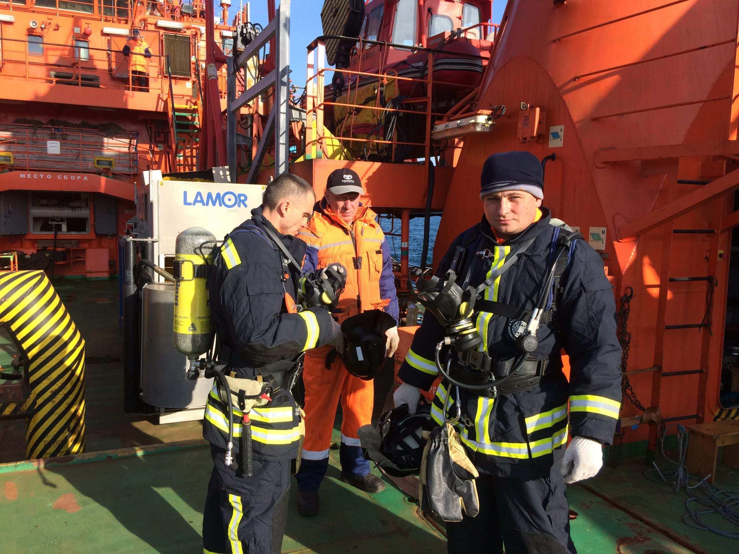 Морские спасатели Новороссийска удостоены международной награды