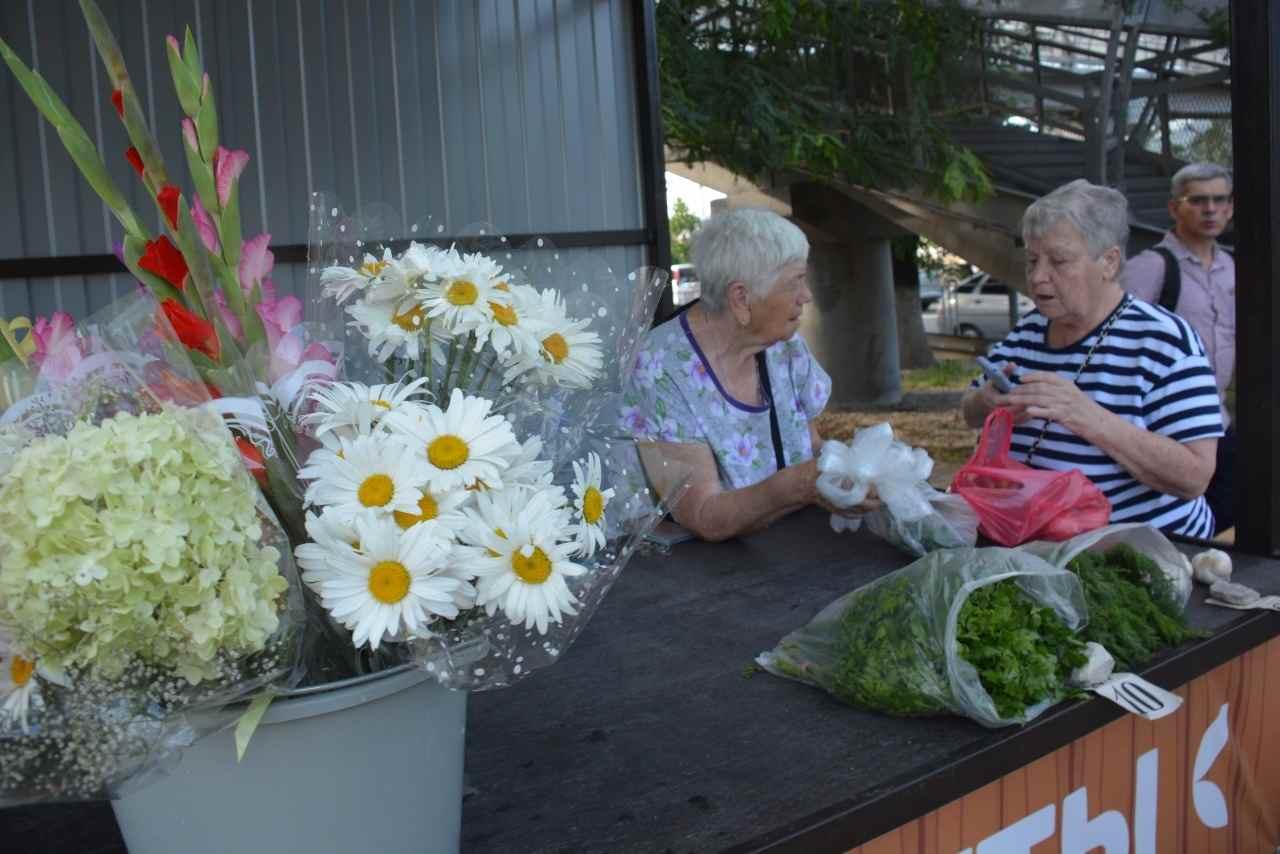В Новороссийске решили не гонять бабушек с петрушкой, а создать им условия для торговли