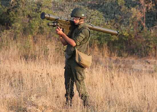 Под Новороссийском начались тренировки в стрельбе по воздушным целям