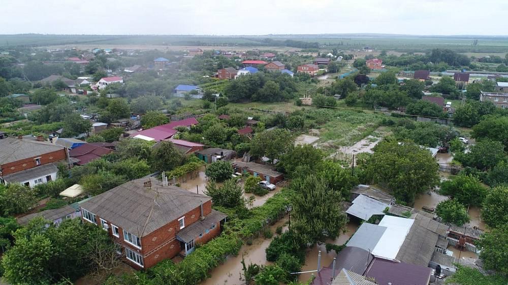 Имущество кубанцев, чьи дома находятся в зонах подтопления, надо страховать