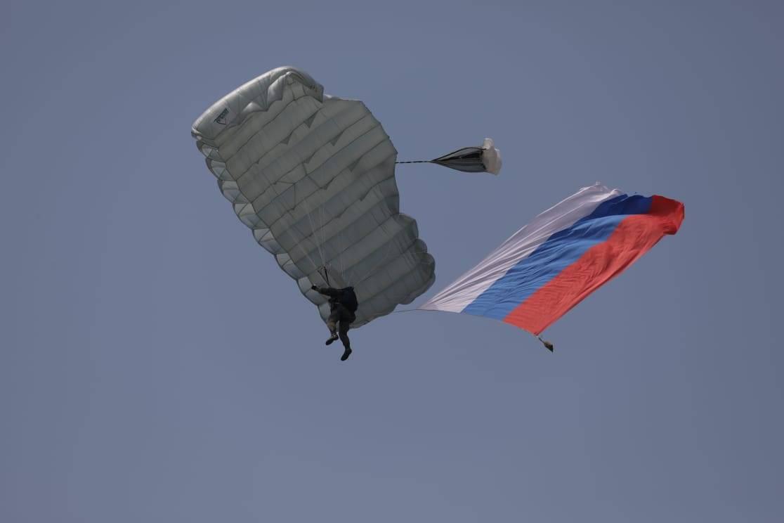 На полигоне «Раевский» состоялся военно-спортивный праздник в честь 91-й годовщины со дня образования Воздушно-десантных войск