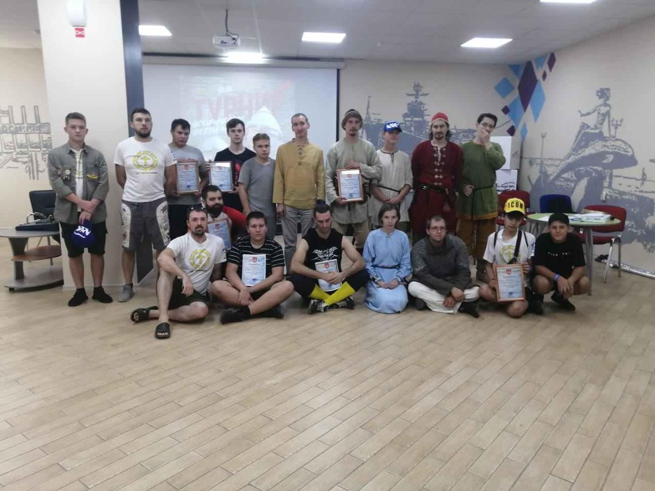 В Новороссийске состоялся турнир по историческому фехтованию (видео)