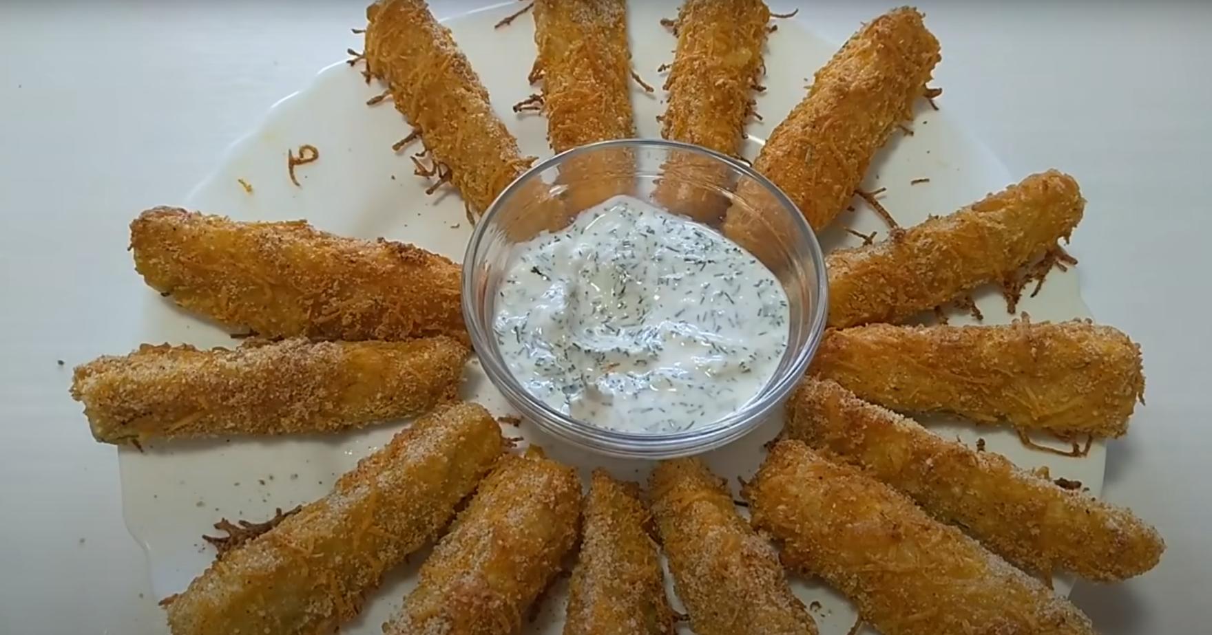 Кабачковые наггетсы в духовке – не успеете подать на стол, съедаются моментально!