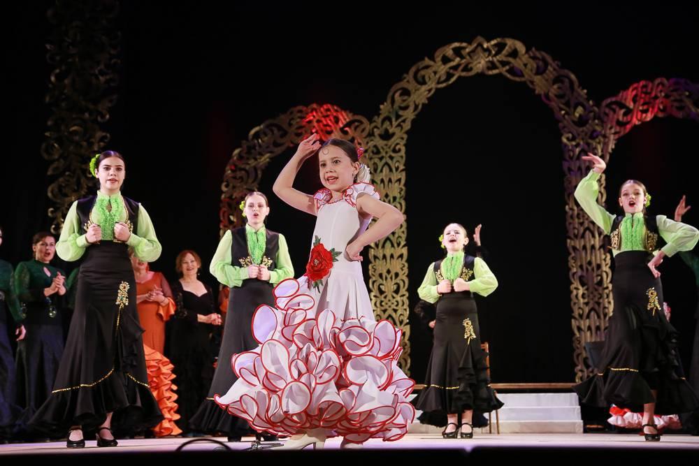 Маленькая танцовщица фламенко из Новороссийска попала в  российскую Книгу рекордов Гиннесса