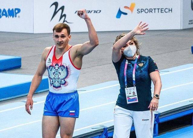 Новороссиец Александр Лисицын — чемпион мира по прыжкам на акробатической дорожке