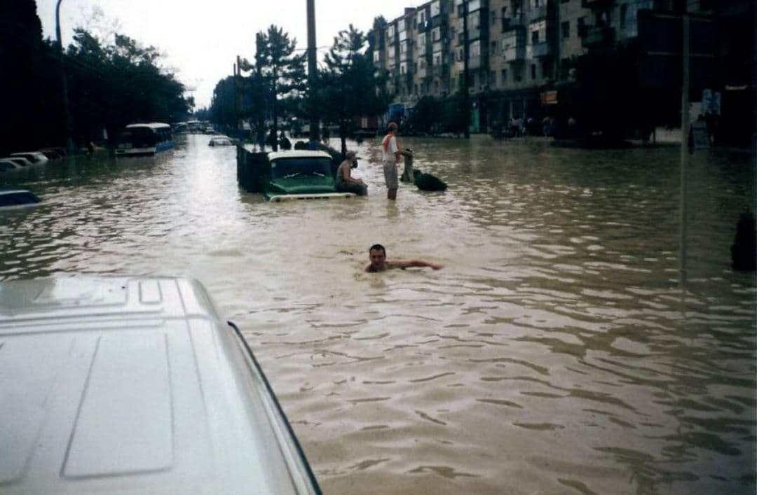 Хроника наводнений в Новороссийске в 21 веке, часть 4