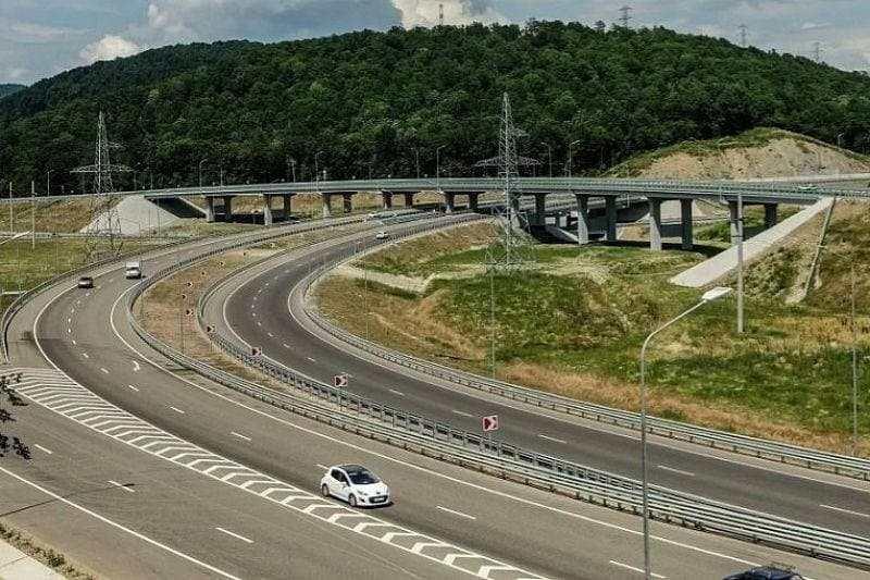 В 2030 году планируется строительство скоростной трассы Новороссийск — Сочи