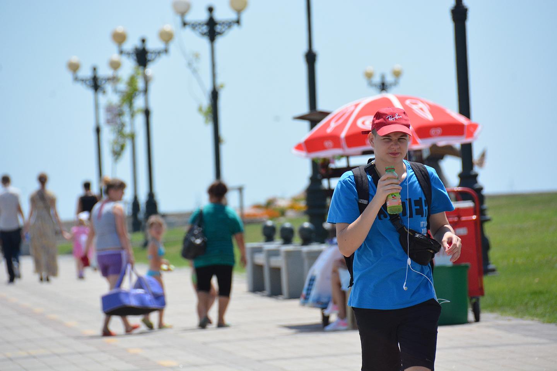 В каком году в Новороссийске было самое жаркое лето?