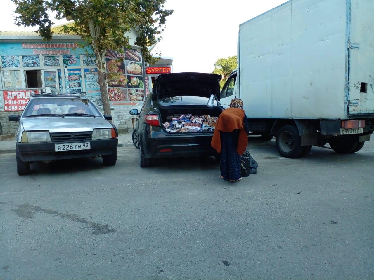 В самом центре Новороссийска цыгане продолжают торговать сигаретами