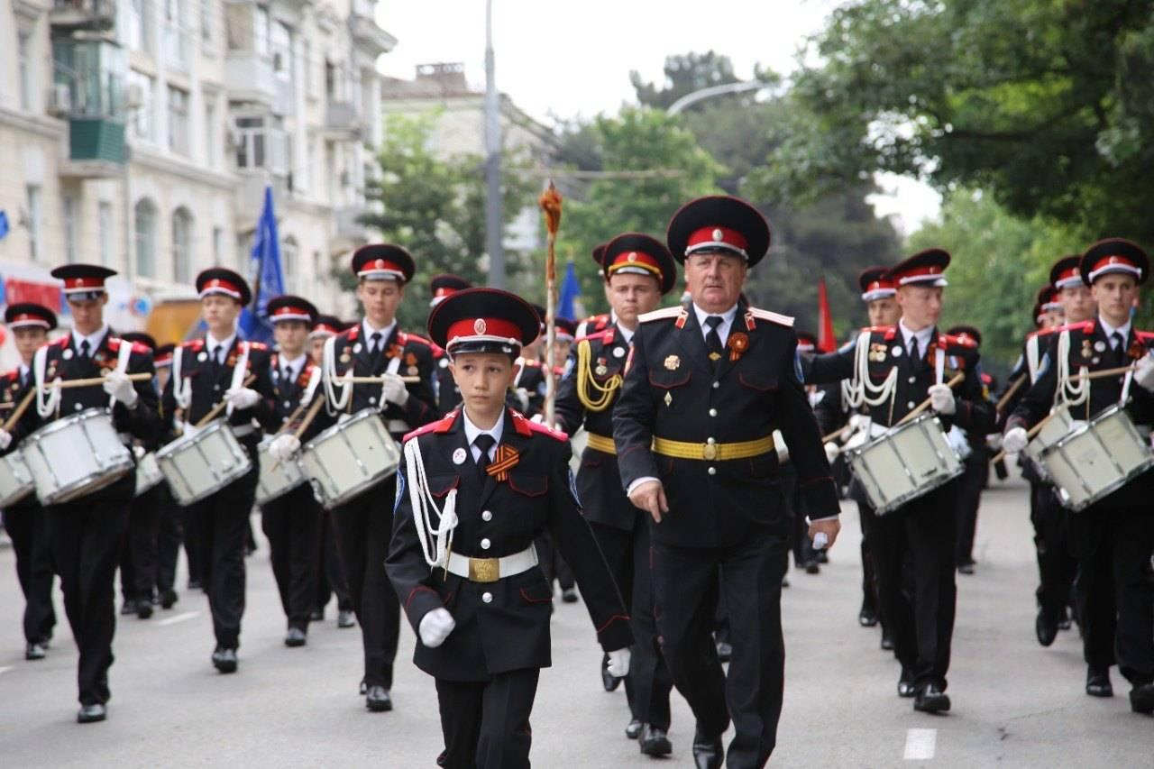 Новороссийский кадетский казачий корпус вышел в финал всероссийского конкурса