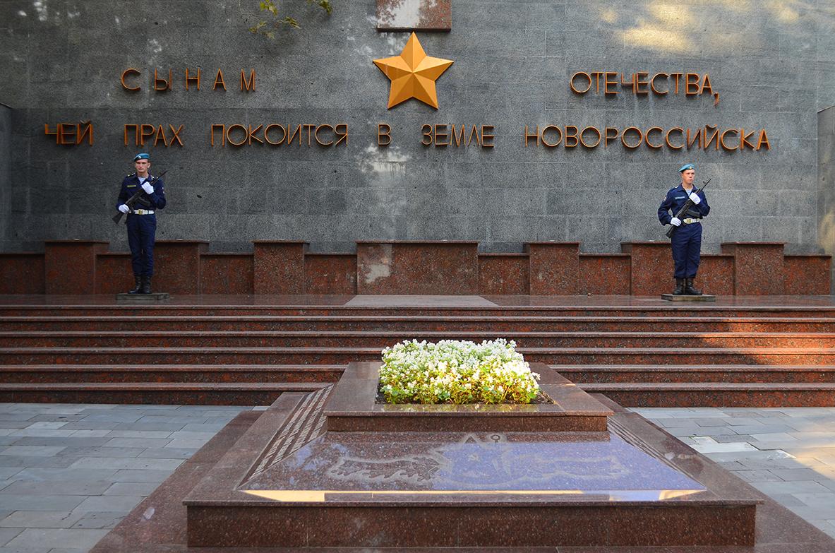 Вчера на Площади Героев в Новороссийске прошел традиционный концерт-реквием
